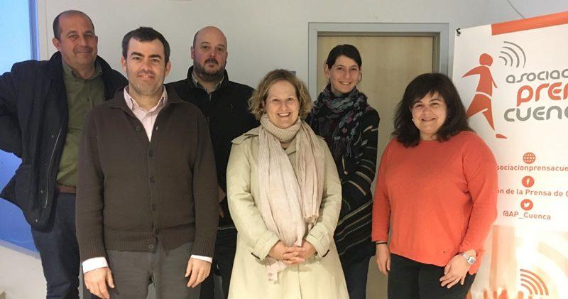 junta directiva Asociación de la Prensa de Cuenca