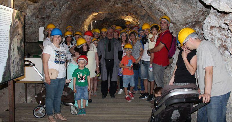 Visita al túnel de Alfonso VIII - Asociación de la Prensa de Cuenca