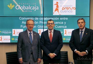 La Asociación de Prensa de Cuenca vuelve a contar con el apoyo de Globalcaja