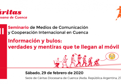 La APC y Cáritas Cuenca organizan el XII Seminario de Medios de Comunicación y Cooperación Internacional
