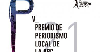 Bases del V Premio de Periodismo Local de la Asociación de la Prensa de Cuenca